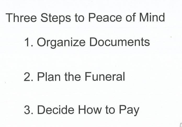 3 steps peace of mind 06.13.19